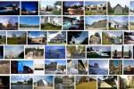 50! Domy świata – spis alfabetyczny